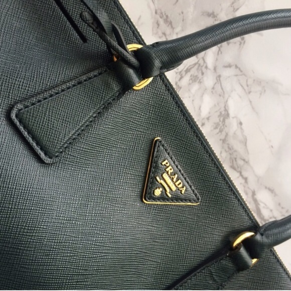 6adcbe419c55a0 Prada Bags | Authentic Limited Classic Forest Green Bag | Poshmark
